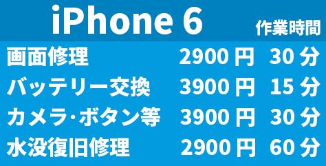 Phone6 交換修理