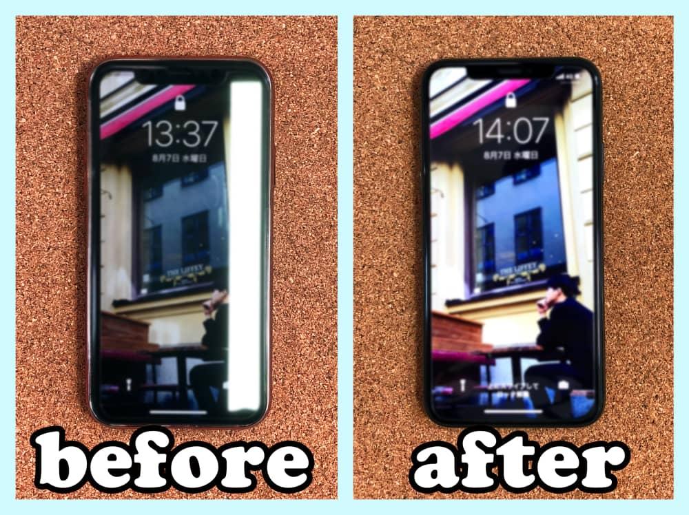 【iPhoneX 液晶修理 山梨県 甲斐市】iphoneX 液晶破損 縦筋甲斐市市よりお越しのお客様です